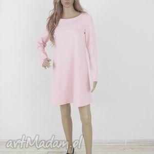 t2dł - tunika w kolorach, tunika, tuniki, rozkloszowana, trapez, elegancka ubrania