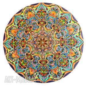 mandala wiecznego szczęścia, mandala, obraz, szczęście, lato, enargia, kolory