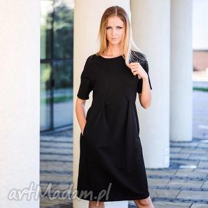 sukienki overlap sukienka dresowa, sukienka, elegancka, klasyka