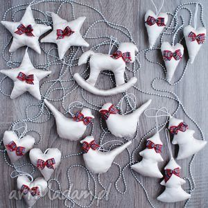 pod choinkę OZDOBY DEKORACJE BOMBKI ŚWIĄTECZNE ZESTAW 16 SZT., świąteczna, dekoracja