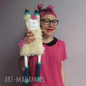 Lama STACEY - na zamówienie, lama, pluszak, futerko, zwierzak, dziecko, maskotka