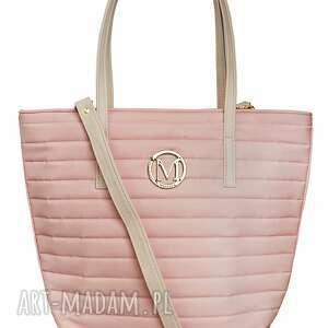 handmade torebki torebka manzana torba gwiazd klasyczna - pastelowy róż