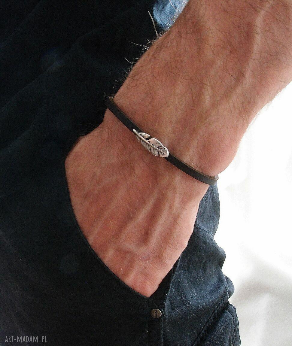 ręcznie zrobione męska bransoletka farli - man