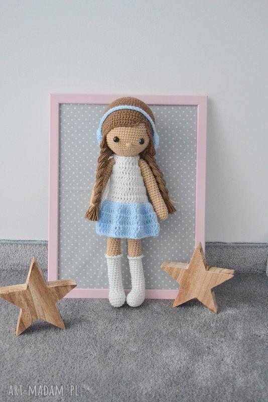 handmade lalki lala zuzia błękitna