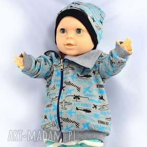 samoloty dwustronna bawełniana bluza dla chłopca, bawełna organiczna, 68-116