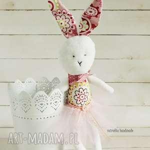 Królisia-baletnica, 171 - ,królik,baletnica,zabawka,maskotka,przytulanka,