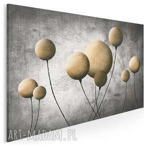 obraz na płótnie - balon balonik beŻowy 120x80 cm 69201, balon