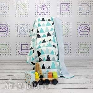 kocyk 75x100 góry personalizacja, kocyk, minky, wyprawka, niemowlęca, łóżeczka
