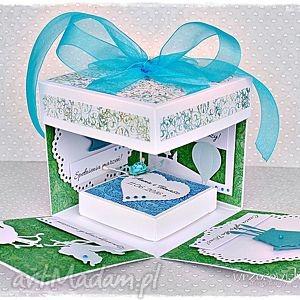 eksplodujące pudełko na ślub, exploding box, eksplodujące, pudełko, ślub