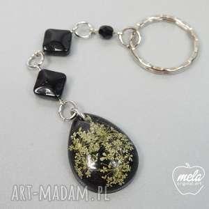 0194/mela brelok do kluczy z żywicy elios kwiaty, brelok, kluczy, żywica