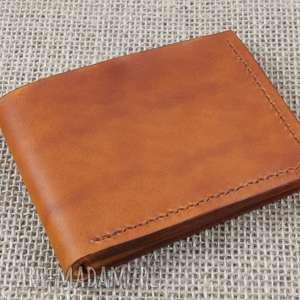 portfel skórzany klasyczny, skóra, portfel, prezent, męski, karty, etui