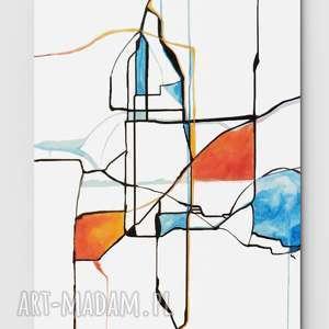 Świata widzenie nr 25 - obraz, płótno, malarstwo, sztuka, art, dom