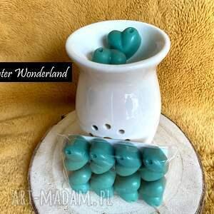 winter wonderland - wosk sojowy zapachowy sosna, cynamon, wafelek