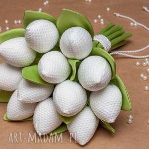tulipany bukiet ślubny sesja ślubna, ślubny, prezent ślub