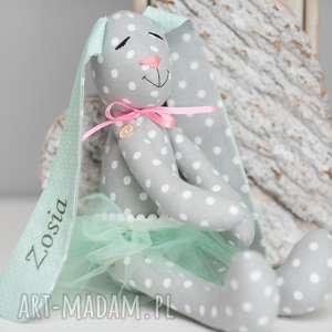 pomysł na prezent święta Królik z personalizacją Imię Prezent, królik