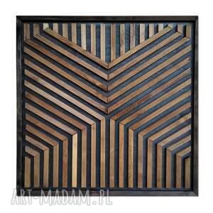 dekoracje obraz z drewna, dekoracja ścienna /87 - maurita/, dekoracja