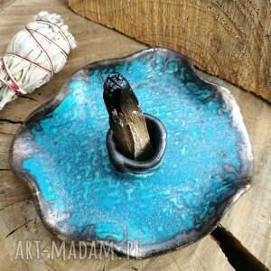 ręczne wykonanie ceramika talerzyk do palo santo ceramiczny (c190)