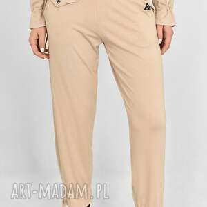 handmade spodnie jola luźne beżowe