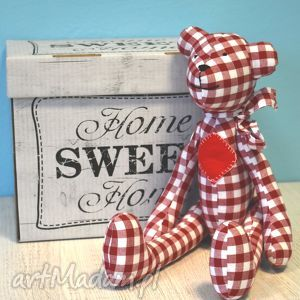 Miś Feluś - ,miś,zabawka,maskotka,przytulanka,szmacianka,lalka,