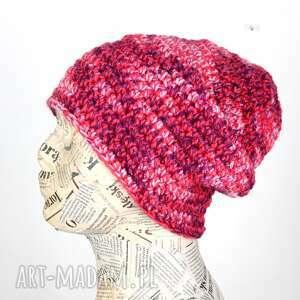 czapka wełniana beanie kolorowa, czapka, wełna, beanie, ciepła, prezent