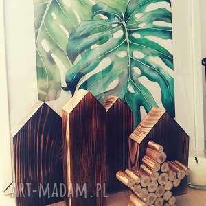 4 domki drewniane, domki, domek, dom, drewno, stare dekoracje