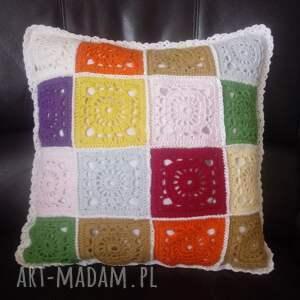 artedania poduszka z kwadratów ii, poduszka, poszewka bawełny