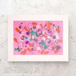 grafika abstrakcyjna, design na ścianę, obraz nowoczesny, abstrakcja ścianę