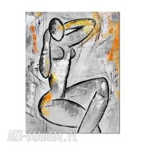 akt 2, matisse, nowoczesny obraz ręcznie malowany, obraz, ręcznie