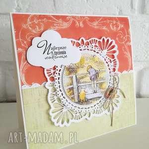 Kartka urodzinowa, kubuś, puchatek, urodziny, dziecko, chłopiec, kartka