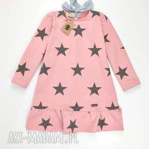 Sukienka Star Pink , sukienka, gwiazdy, gwiazdki, pudrowy