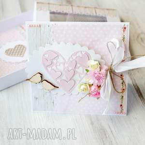 ręczne wykonanie scrapbooking kartki kartka na ślub