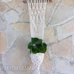 dekoracje makrama kwietnik - model md 1, makrama, kwietnik, kwietnikmakrama