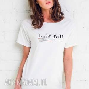 HALF FULL Oversize T-shirt, oversize
