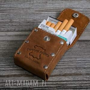 Skórzane etui na papierosy wersja Slim i Klasyczne, papierośnica,