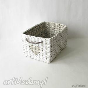 pudełka kanciasty koszyk - szuflada, dom