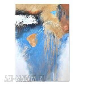 stone, abstrakcja, nowoczesny obraz ręcznie malowany, obraz