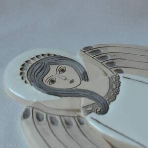 handmade ceramika anioł ceramiczny - hvar