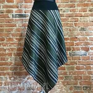 ququ design spódniva z lat 80 tych, boho spódnica, maxi dresowa spódnica