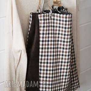 święta, torba w kratkę, torba, torebka, damska, kratka, zakupy, letnia