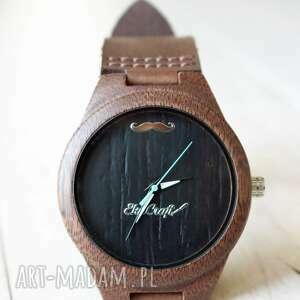 zegarki drewniany zegarek nightjar, drewniany, zegarek, świąteczny, drewno