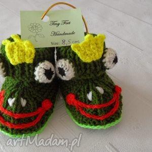 buciki niemowlęce - zaczarowana żabka, buciki, kapciuszki, dziecięce