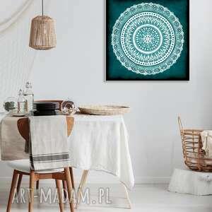 święta, mandala 50x50cm, mandala, mandale, sztuka, plakat, obraz