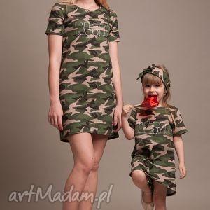 komplet sukienek moro mama i córka, sukienki, komplet, moro, mama