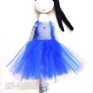 ręcznie robione lalki lila blue. baletowa