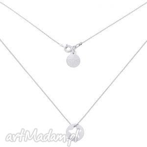 sotho srebrny naszyjnik z gwiazdką w kółeczku - łańcuszek