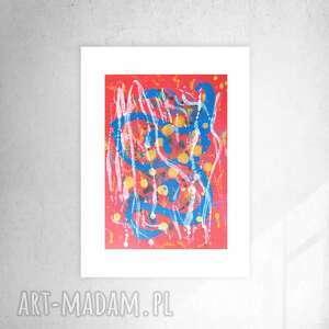 oryginalna grafika, ładna abstrakcja do salonu, nowoczesny obrazek loftu