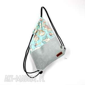 worek plecak jednorożce kolorowy pojemny, worek, plecak, wakacje