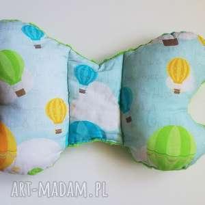 lilifranko poduszka podróżna balony / zielony, poduszka, motylek, wózek, łóżeczko