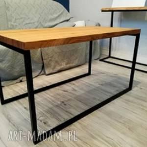 hand-made stoły stolik kawowy z czereśni, loft