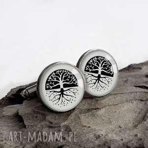 spinki do mankietów na prezent dla mężczyzny magic tree magiczne drzewo